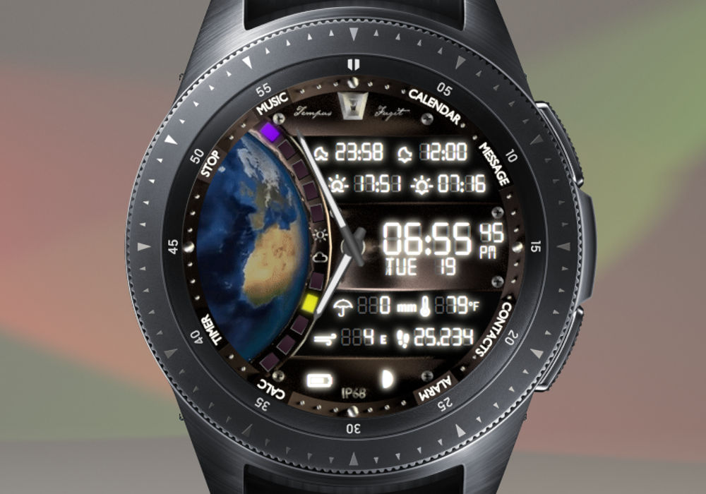 One Earth – Tempus Fugit Watches